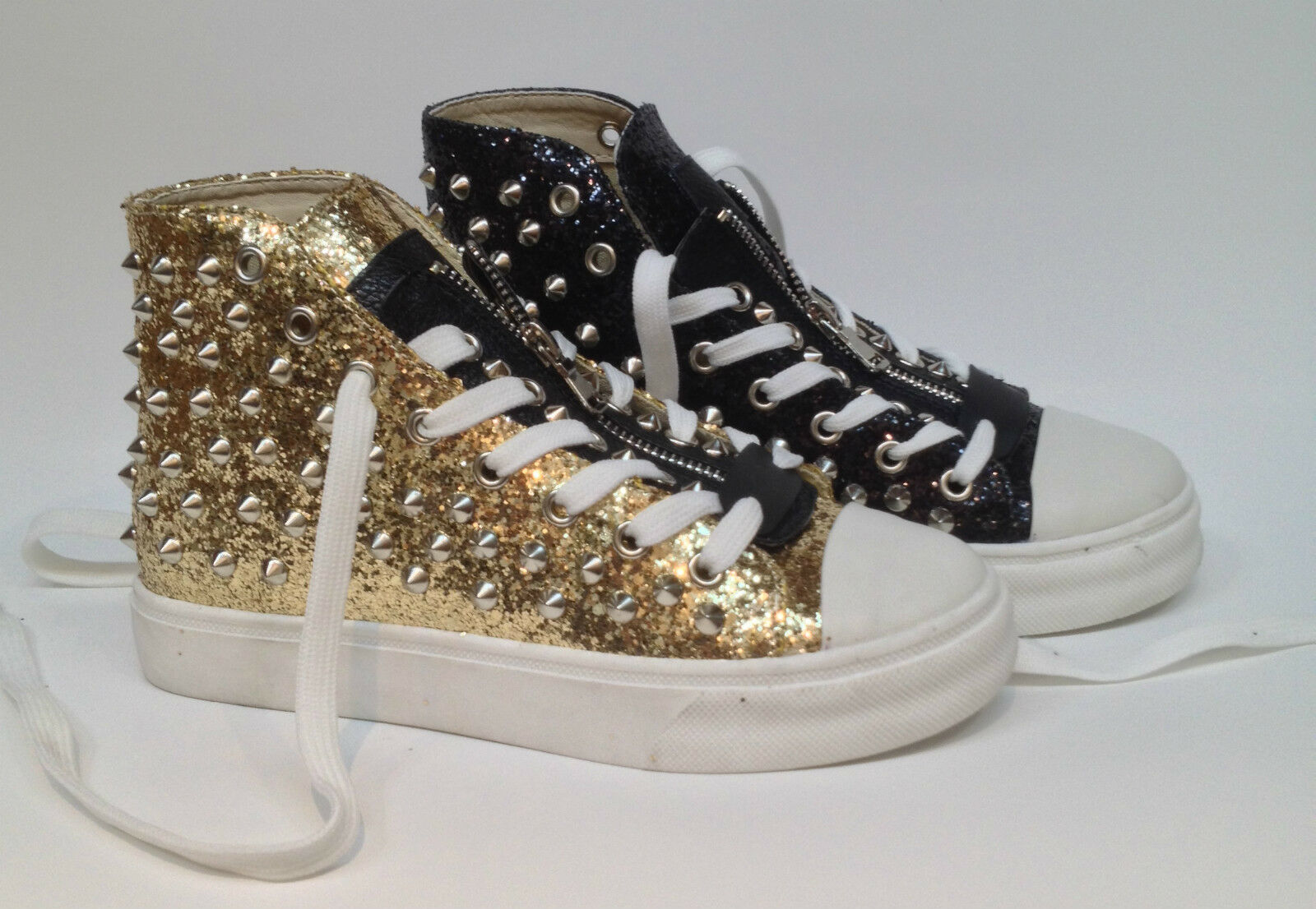 SNEAKERS schuhe Damens Damenschuhe Schuhe ZAPATOS GLITTER 35 36 37 38 39 40 41 BORCHIE