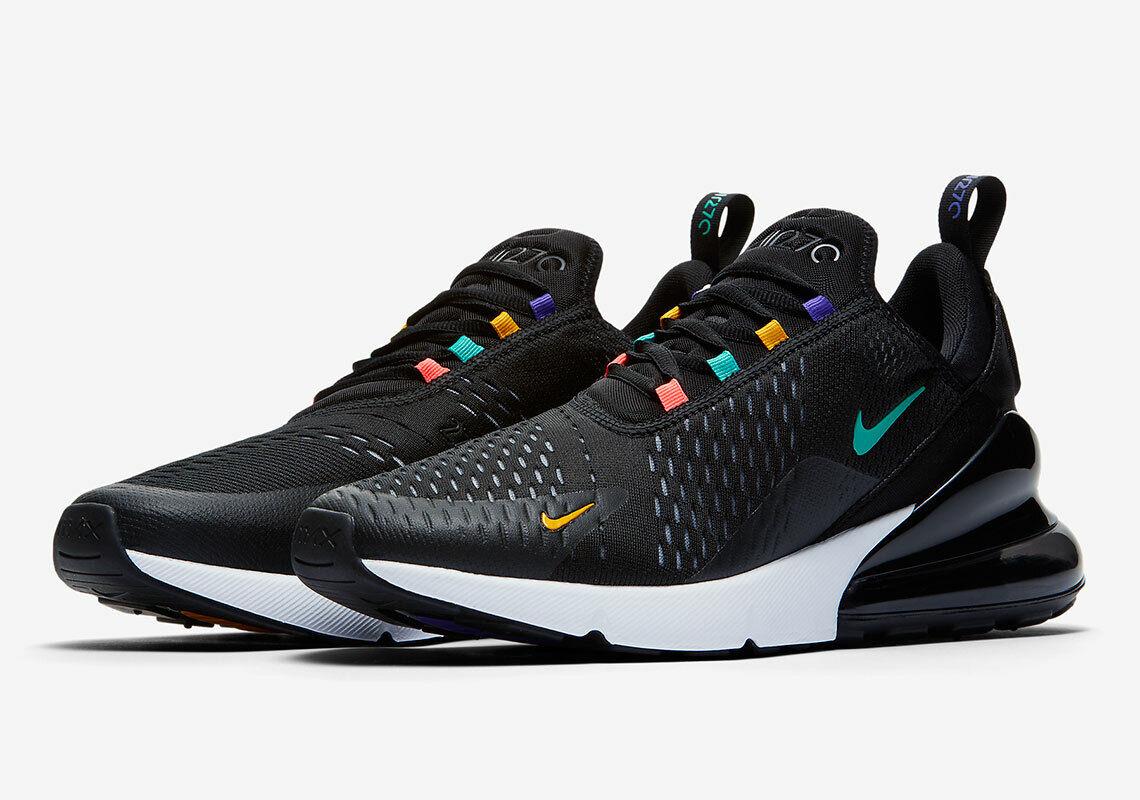 Nike Air Max 270 scarpe  da ginnastica (A8050 -023) bianca  nero  Multi Men's Dimensiones 8.5 -12  le migliori marche vendono a buon mercato