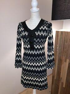 ana-alcazar-Kleid-Longshirt-schoenes-Muster-Gr-36-TOP