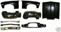 Body Kit Nova 68 69 70 71 72 Fender Cowl Hood Radiator Support Bumper Inner