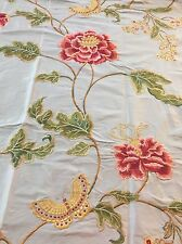 REMNANT Off Cut Colefax & Folwer Fabric Curtain Blinds 64x110cm Silk