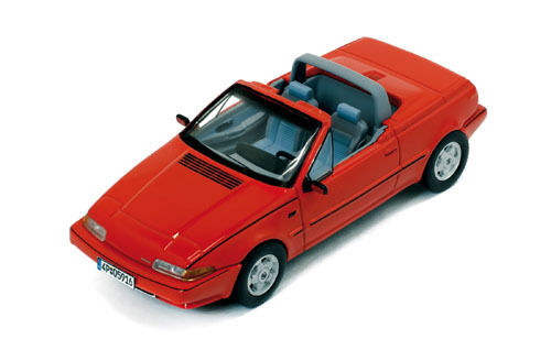 VOLVO 480 Cabriolet ROSSO PRD 447 1:43
