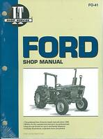 1975 76 77 78 79 80 81 Ford Tractor Shop Manual-2600 3600 4600 4610
