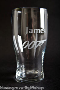 Personalised-James-Bond-Pint-Glass-Gift-Boxed