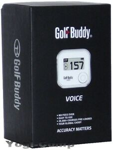 how to open golf buddy voice