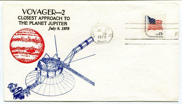 1979 Voyager-2 Closest Apporach Planet Jupiter Cape Canaveral SPACE NASA USA SAT