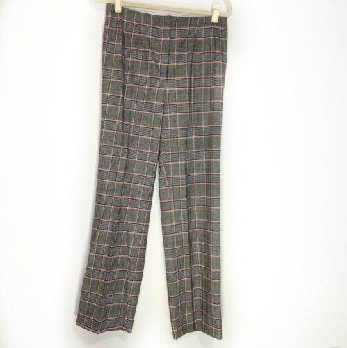 MINT stretch Made in Italy IT size 44 US 8 Vintage 90s Piazza Sempione print capris
