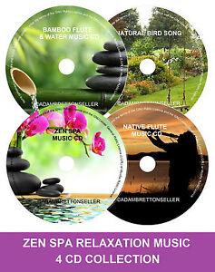 Zen-Spa-Music-Collection-Relaxation-Meditation-Deep-Sleep-Salon-Stress-4-CD