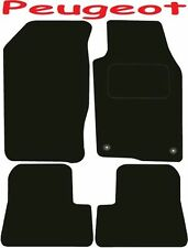 Deluxe Quality Car Mats for Peugeot 206 98-06 ** Tailored for Perfect fit ;) **
