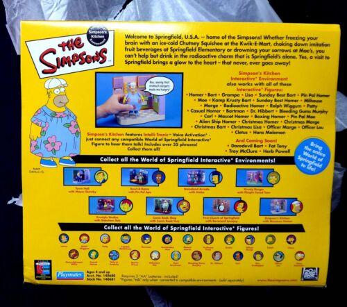 Homer Muu Muu /& Kitchen Playset Simpsons TV New 2001 Amricons