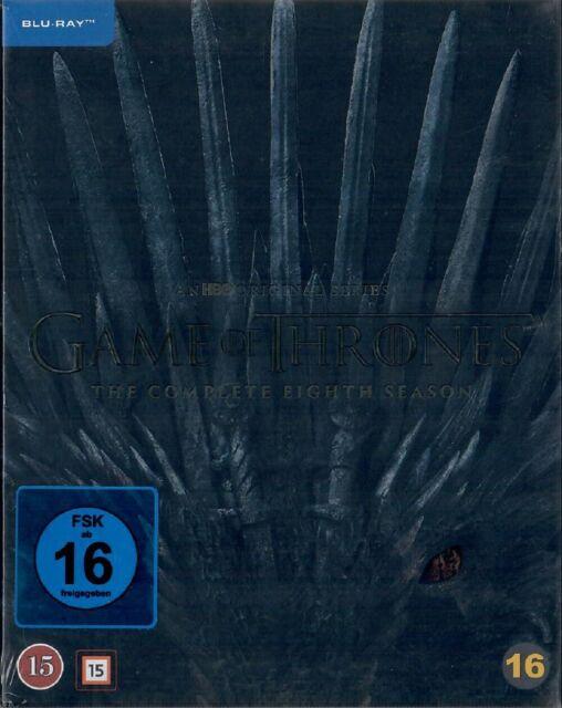 Game of Thrones Staffel 8 Blu-ray Neu und Originalverpackt Die finale Staffel