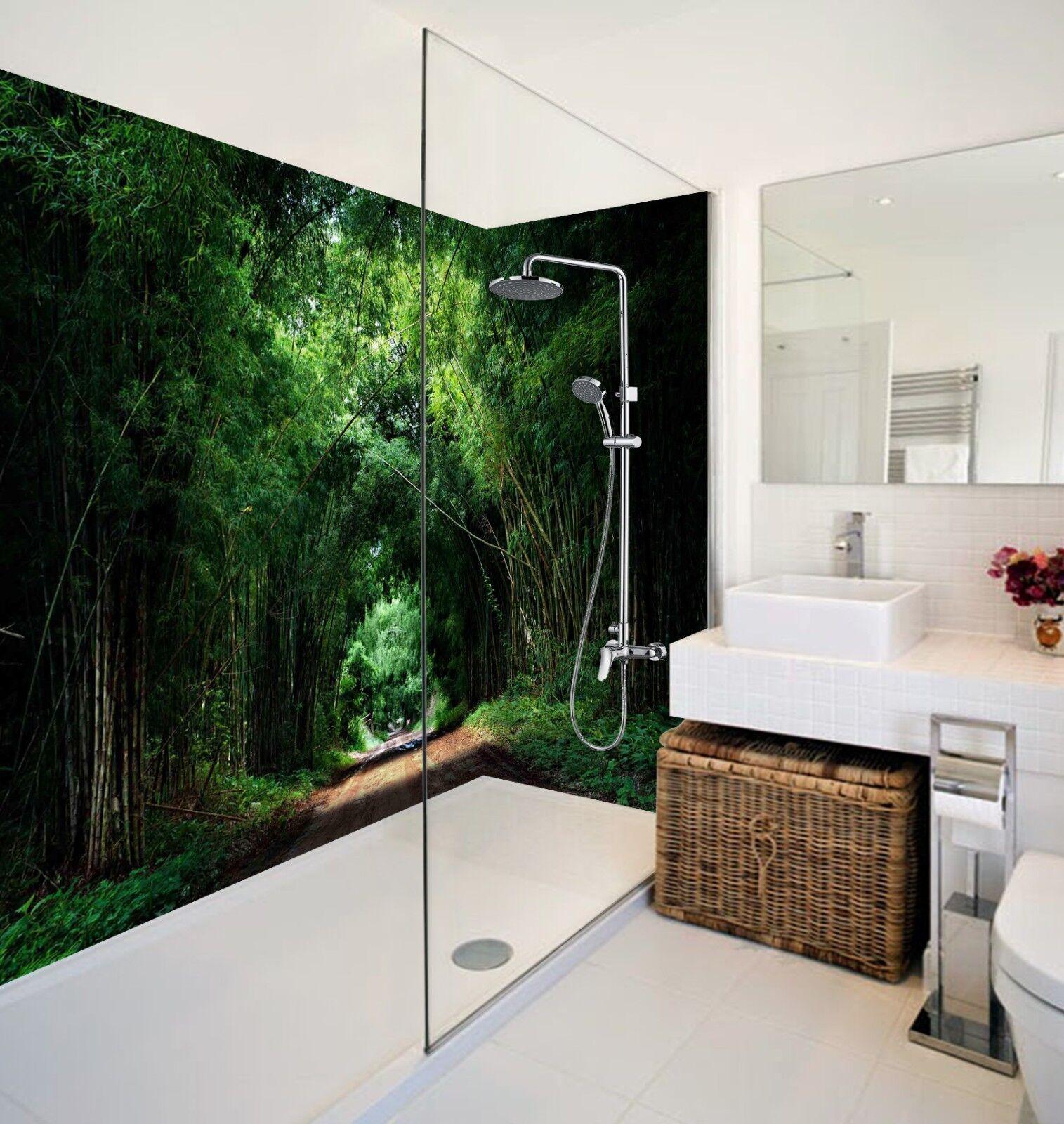 3D Grün jungle 536 WallPaper Bathroom Print Decal Wall Deco AJ WALLPAPER UK