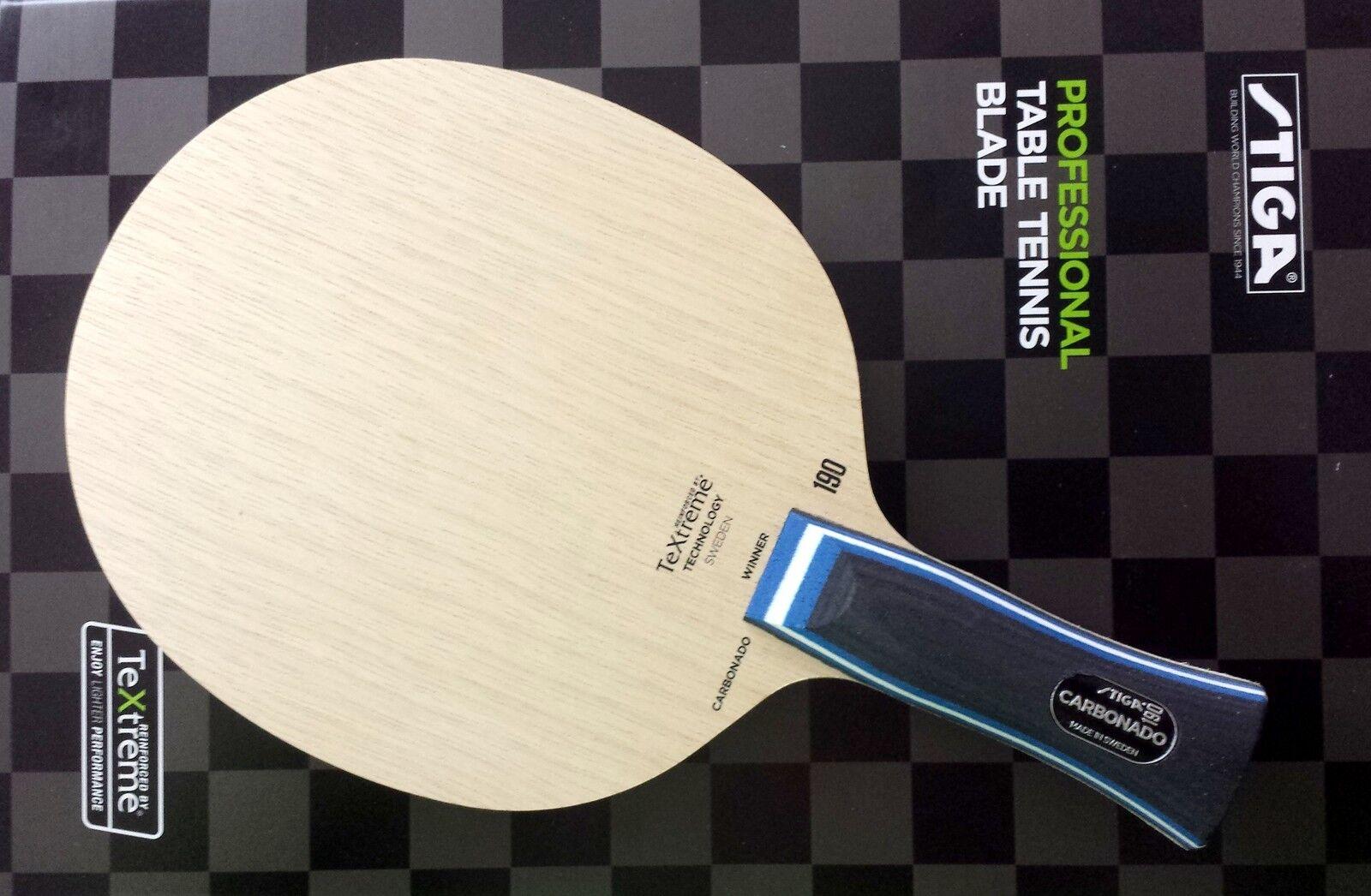 STIGA TT-Holz Carbonado 190, Off++ Holz mit mit mit neuer TeXtreme®-Technology - neu+ovp 9d1f9a