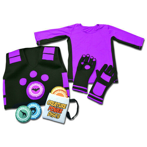 VEST,GLOVES,SHIRT /& MORE WILD KRATTS CREATURE POWER SUITS WITH 5 ANIMAL DISCS