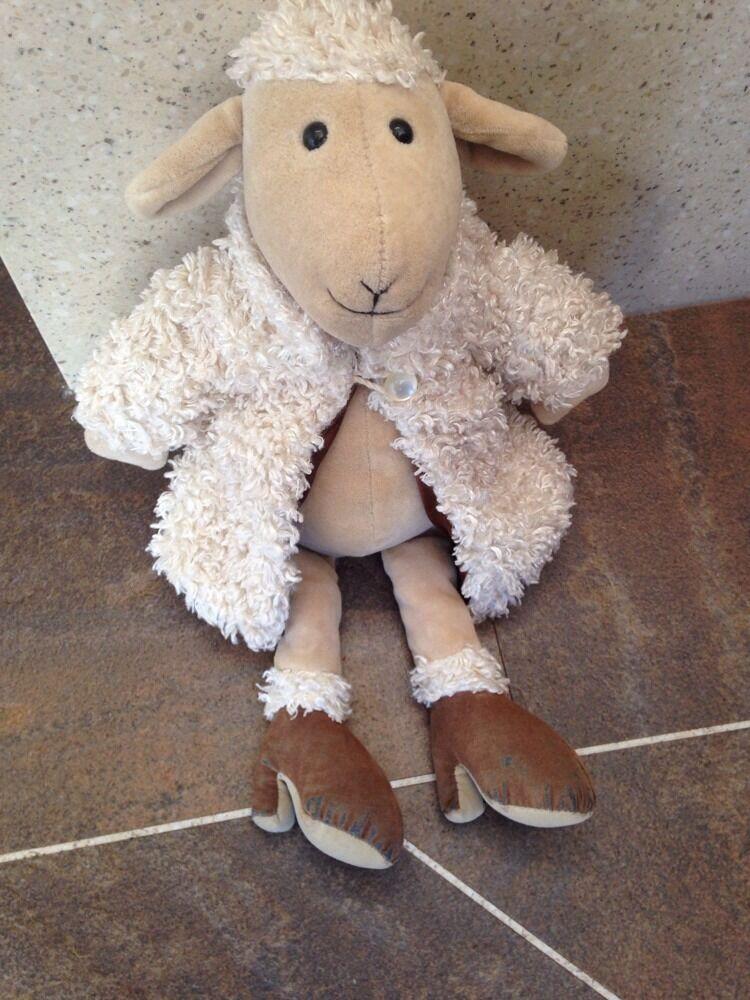 JELLYCAT I FUR AM MEDIUM FUR I COAT SHEEP 13