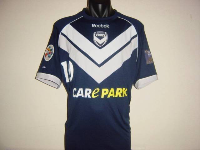 MELBOURNE VICTORY 2011 THOMPSON  10 AFC ACL CHAMPIONS LEAGUE JERSEY SHIRT gree