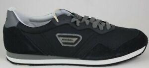 Diesel-Men-039-s-Jake-Kursal-Fashion-Sneakers-Black-T8013-Brand-New-in-Box