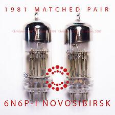 MATCHED PAIR 6N6P-I 1981 ECC99 E182CC Power Tubes x2 Little Dot Amp Mk III 6N6
