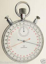 OMEGA OLYMPIA STOPPUHR - RATTRAPANTE / SPLIT SECOND / SCHLEPPZEIGER ca.1950/60.J