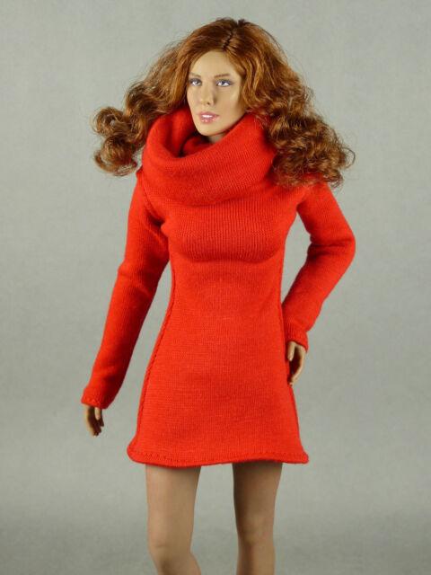 1/6 Phicen TBLeague Vogue Hot Toys ZC Female Fashion Red