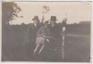 (f24808) Orig. Photo Loga (vide), Personnes En Plein Air 1928-afficher Le Titre D'origine Toujours Acheter Bien