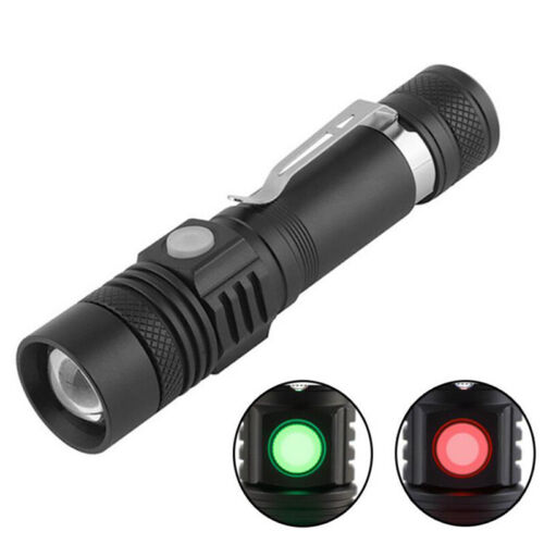 T6 LED 4Modes USB Rechargeable 18650 Flashlight Torch Zoom Lamp Light New t2