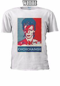 David Bowie Chchchange Chanson Anglais T-shirt Débardeur Tank Top Hommes Femmes Unisexe 2617-afficher Le Titre D'origine
