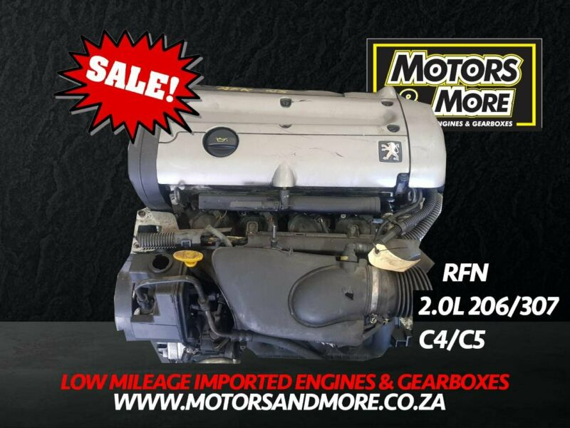 Citroen C4 C5 RFN 2.0 Engine For Sale No Trade in Needed