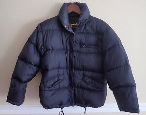 Girls-OP-Black-Puffer-Jacket-full-zip-Size-M