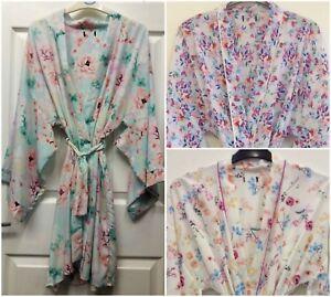 S01 Womens Various Kimono Dressing Gownrobe Uk Sizes 810 1012