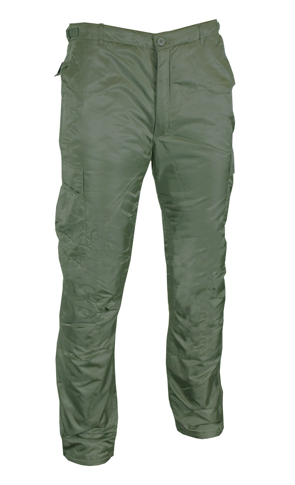 US MA1 green Oliva Inverno BDU Pantaloni - Foderato Imbottito Freddo Termico