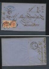 Austria   #3     2  on folded envelope           MS0130