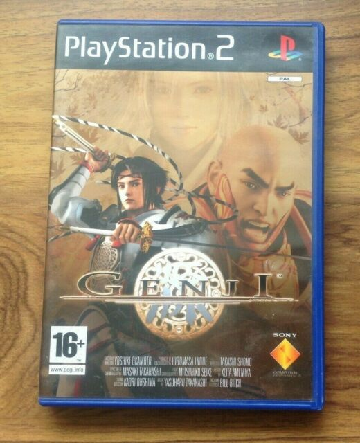 Genji-Sony Playstation 2 (ps2) Spiel-PAL. kostenlos UK PORTO