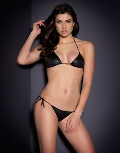 Image is loading Agent-Provocateur-Carter-Crystal-Embellished-Bikini-Size-2- a6513dfa1