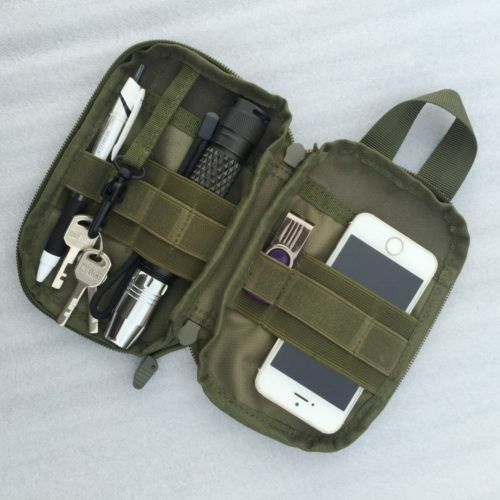 US FAST Tactical Pouch Bags Nylon Military Waist Phone Key Carry Case Fanny Pack