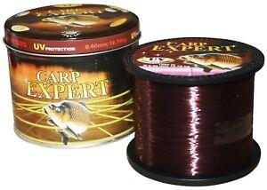 Carp Expert Multicolor 1000m Monofile Schnur ANGELSCHNUR Mono  0,30-12.50kg