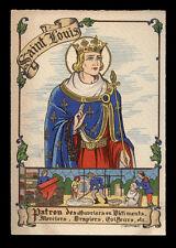 antica cartolina S.LUIGI RE DI FRANCIA