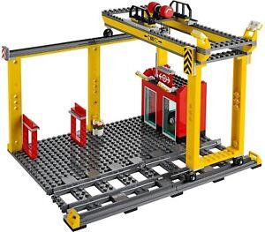 Lego-city-train-station-et-pont-roulant-Brand-New-from-set-60052