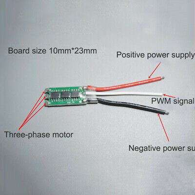 Spektrum Avian 15 Amp Brushless Smart RC Airplane ESC Speed Control SPMXAE1015