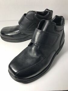propet rodney work / casual boots men's leather black size