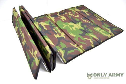 Z Folding Sleeping Mat Thermal Fold Mat Army Outdoor Camping DPM Camo Mattress