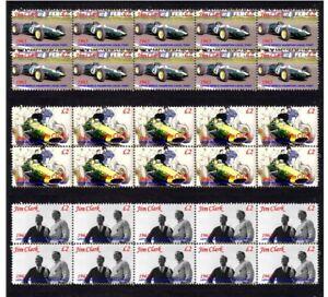 JIM-CLARK-1963-LOTUS-F1-W-CHAMP-SET-OF-3-MINT-VIGNETTE-STAMPS