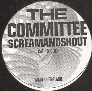 The Committee – Schreien & Shout Schreiben - Not On Label – CL02 - 2000