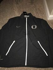 Oregon Ducks Nike Elite Touch Performance Full Zip Jacket XL Heather Black