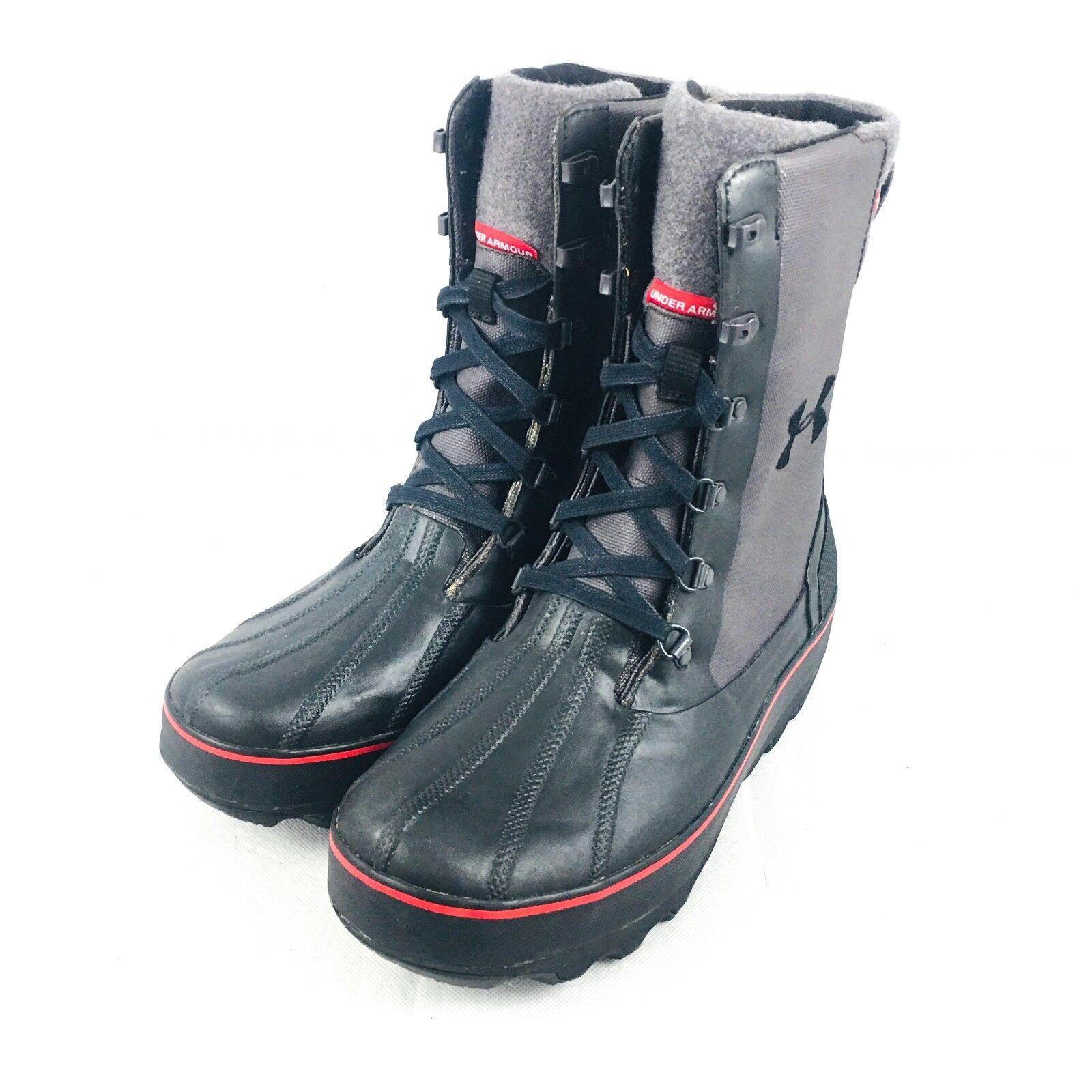 Under Armour Clackamas 200 Gram 1250238-001 Primaloft Insulated Stiefel Mens 10.5