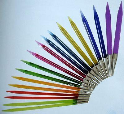 KnitProTrendz Acryl Nadelspitzen austauschbar alle Farben alle Größen 3,5 - 12mm