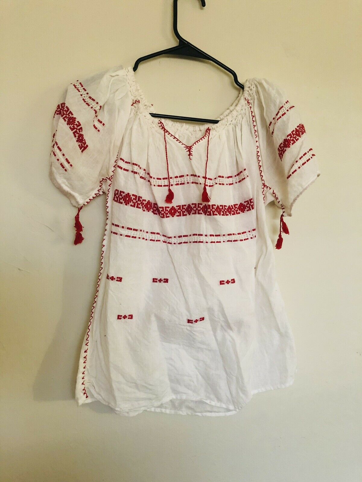 Vintage 1960/70 Hungarian Blouse, Fits size xs/sm… - image 1