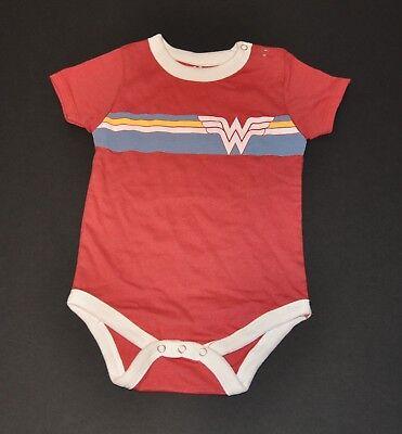 Onesie Gerber 6-9M,12M,18M NWOT Wonder Woman Infant Baby Girls Bodysuit Romper