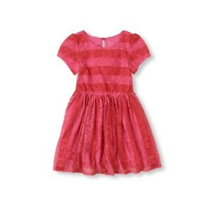 Girls Clothes Size 7 $58 Msrp My Michelle Long Sleeve Chevron Dress