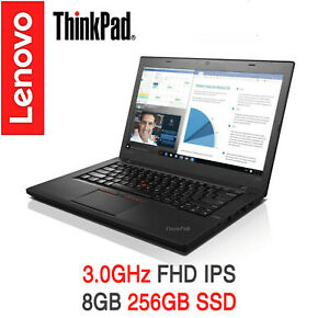 Details about ThinkPad T460 i5 3 0GHz FHD IPS 8GB 256GB SSD AC BT On-site +  ADP Warranty T470